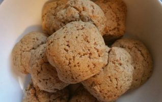 Soaked Sprouted Oatmeal Flour Cookies