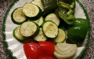 Oven Broiled Veggies