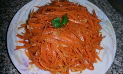 korean russian carrot salad
