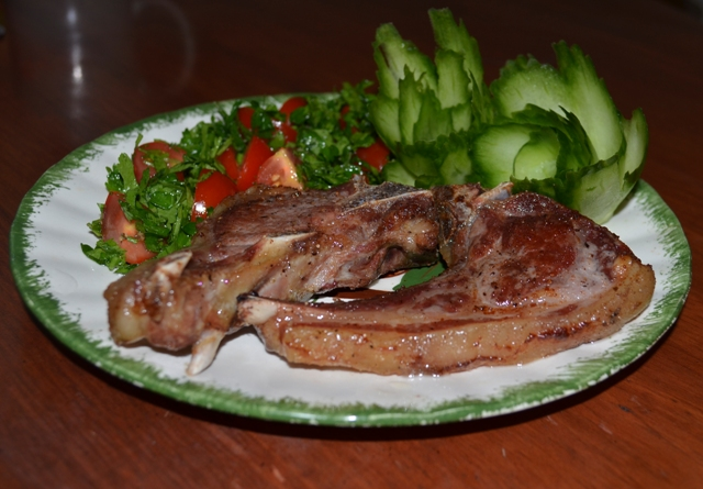 oven roasted lamb chops