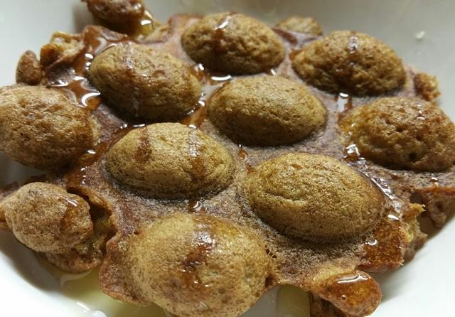 soaked oat waffles