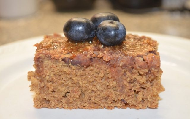 No Sugar Date-sweetened Cake (Gluten-free)