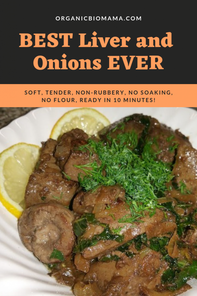 best liver and onions recipe