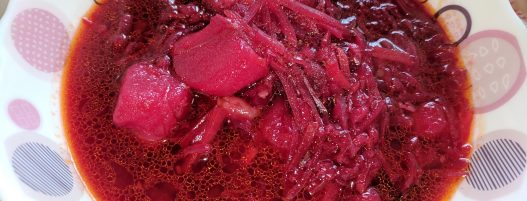 Beets and Cabbage Red Soup (Vitamin & Mineral-rich Nourishing Meal)