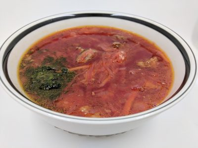 beet and cabbage soup