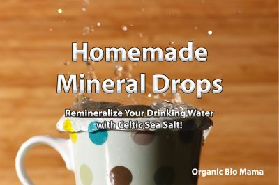 homemade mineral drops