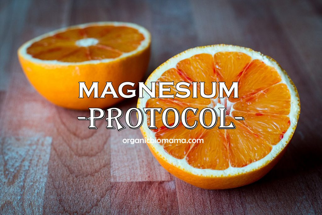 MAGNESIUM PROTOCOL