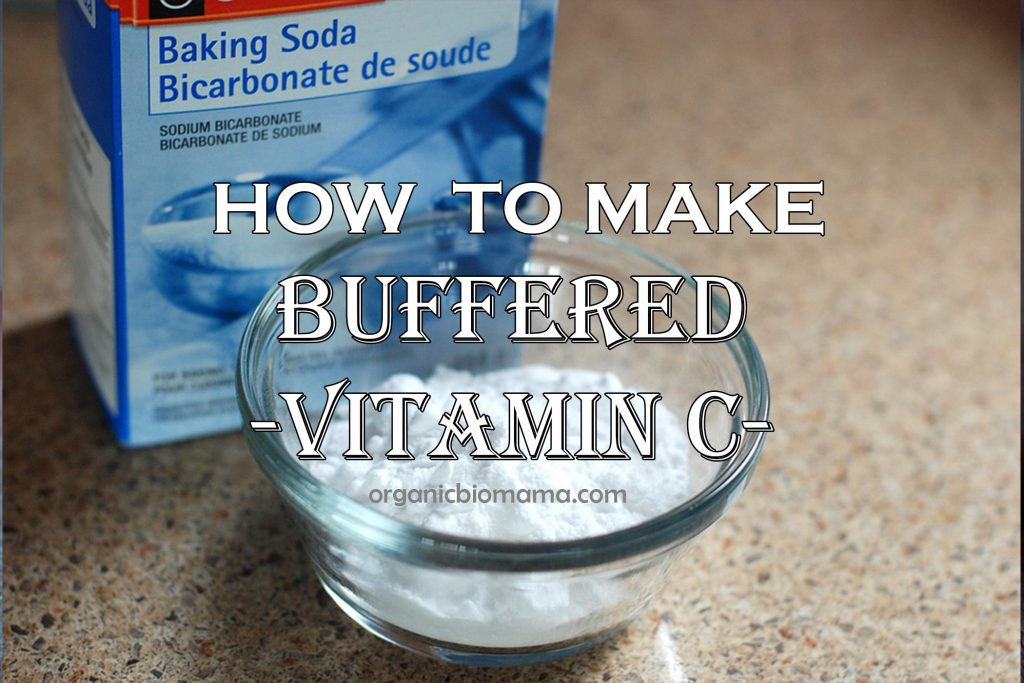 How to make sodium ascorbate (buffered vitamin c)