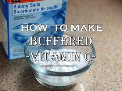 How to make sodium ascorbate (buffered vitamin c)
