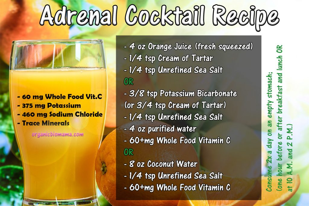 adrenal cocktail recipe