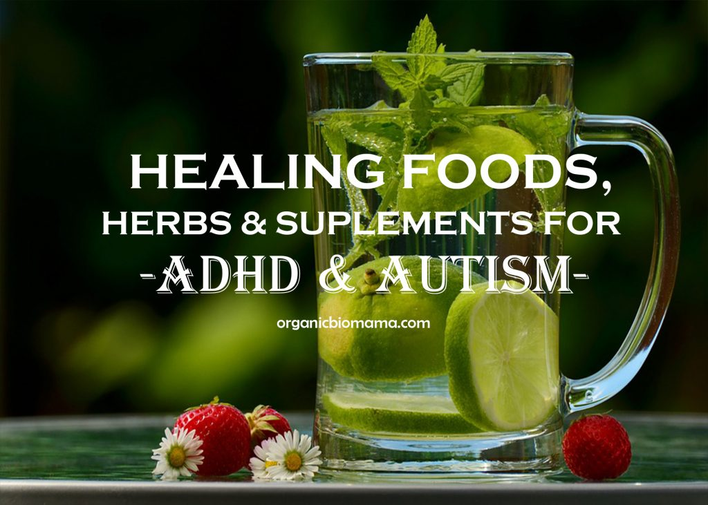 Healing Foods Herbs Supplements for ADHD and Autism