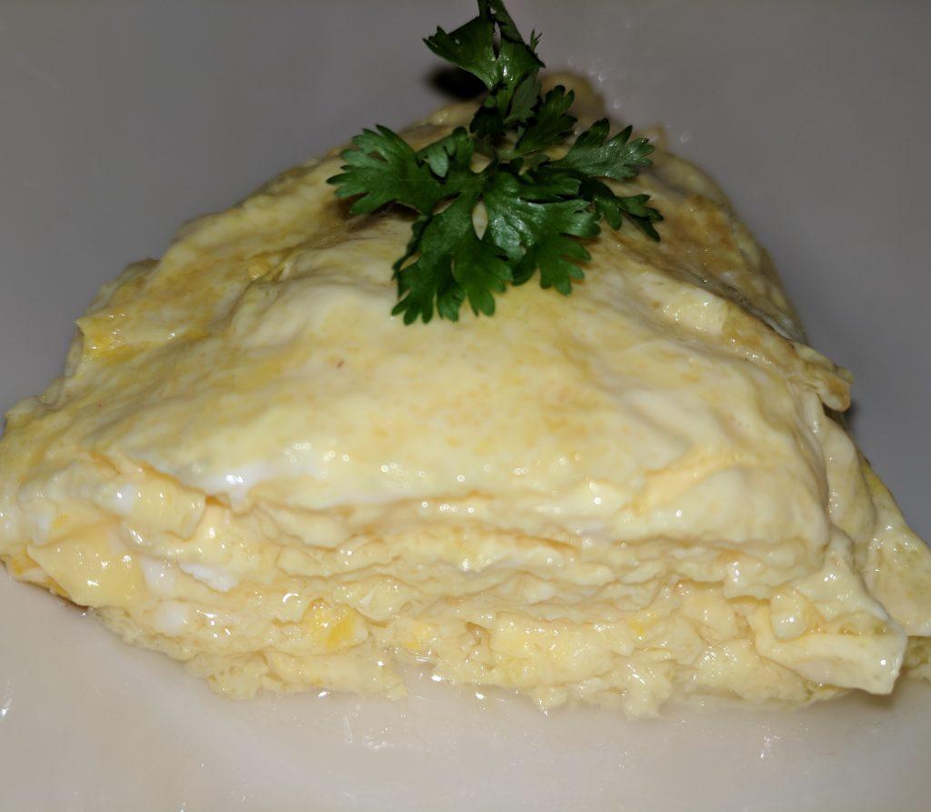 soft eggs omelet