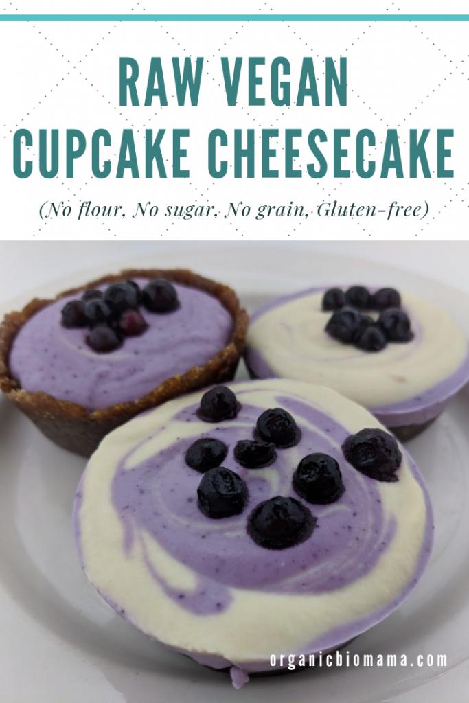 raw vegan cheesecake cupcakes recipe