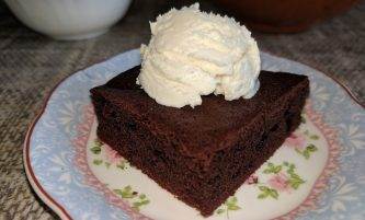 Quick and Easy Brownie Recipe without Cocoa Powder (using Dark Chocolate)
