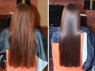 diy hair lamination with gelatin
