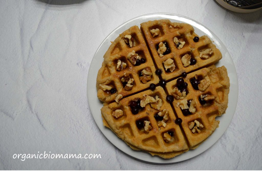 cassava flour waffles gluten-free paleo