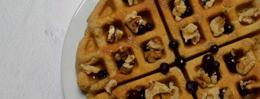 Cassava Flour Waffles (Gluten-free, Paleo)