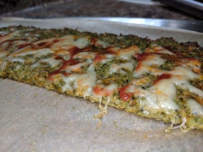 healthy baked broccoli cheesy bread recipe - baked broccoli cheese bread