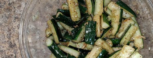 KOREAN CUCUMBER SALAD recipe