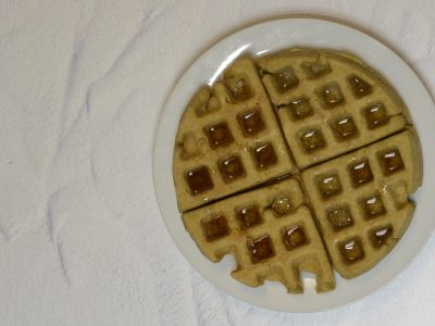 Coconut flour Protein waffles