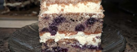 BLUEBERRY COFFEE CAKE – Sugar-Free Date Cake