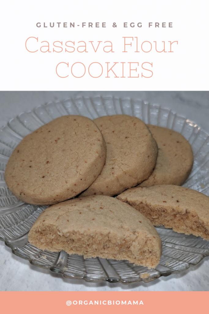 CASSAVA FLOUR COOKIES - Gluten free Shortbread Recipe (AIP, Paleo)
