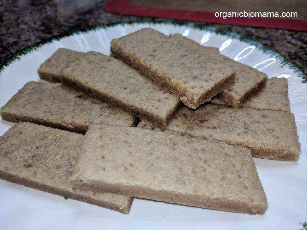 organic shortbread cookies 1