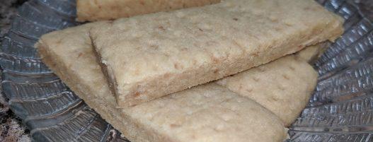 Organic Shortbread Cookies Recipe (Experiment)