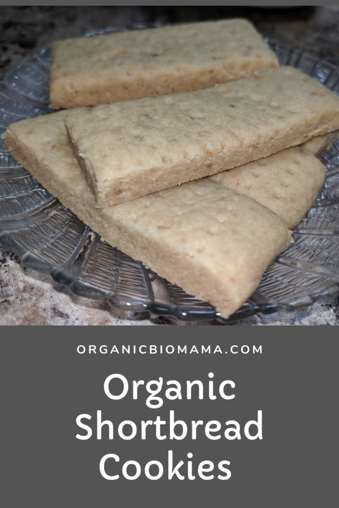 organic shortbread cookies recipe