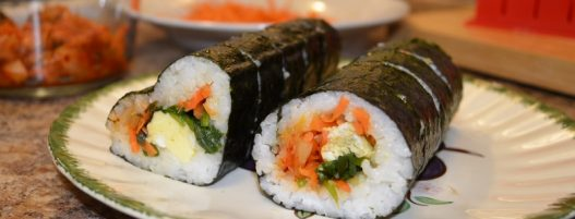 KIMBAP – KOREAN SUSHI (great for lunchbox)