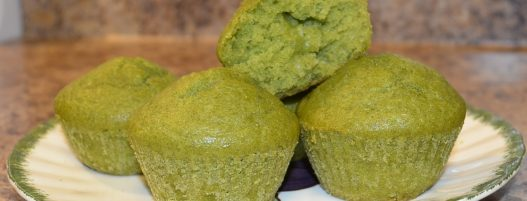 SPINACH MUFFINS for Picky Eaters