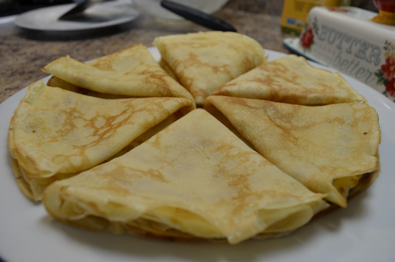 easy crepe recipe - blinchiki - organicbiomama.com