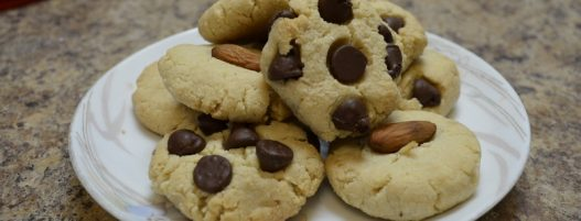 ALMOND FLOUR COOKIES without Eggs