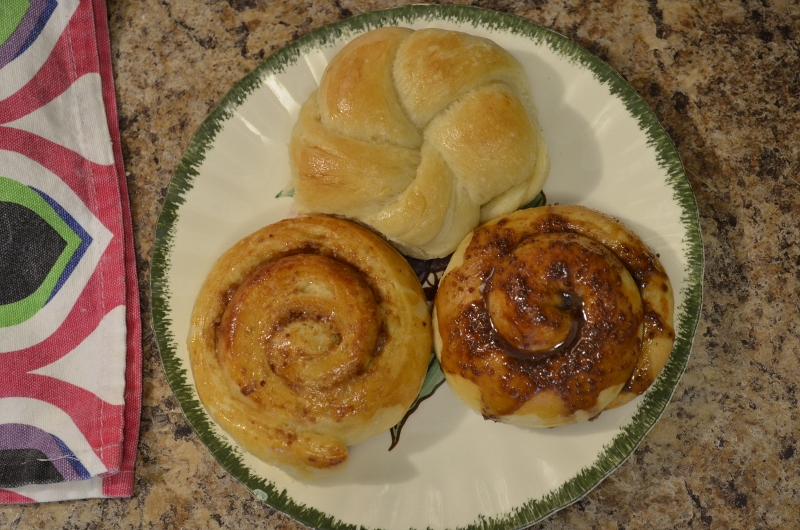 sweet buns recipe