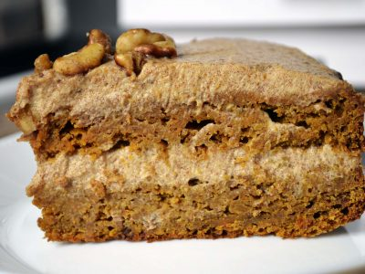 healthy carrot cake from scratch