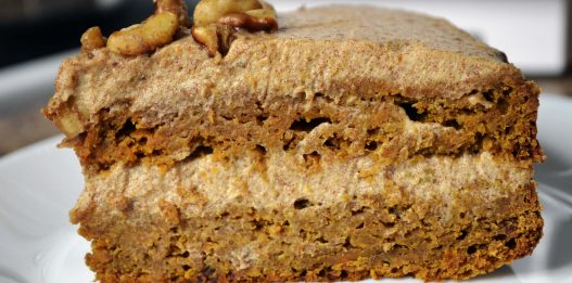 Healthy Date-sweetened CARROT CAKE, which tastes AMAZING! (No Sugar added)
