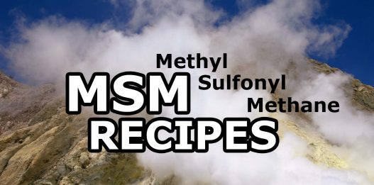 MSM (Methylsulfonylmethane) and Sulfur: Safety, Benefits, Recipes