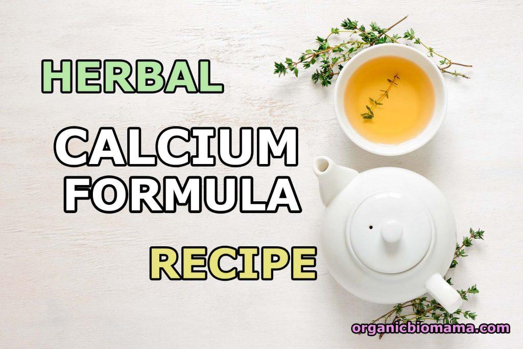 herbal calcium formula