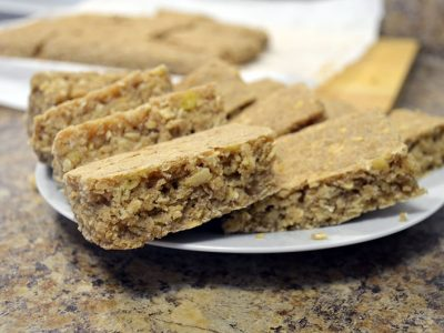 healthy oatmeal banana cake