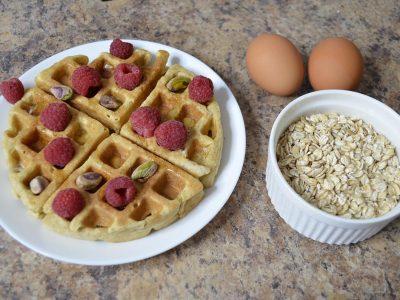 oatmeal waffles no flour