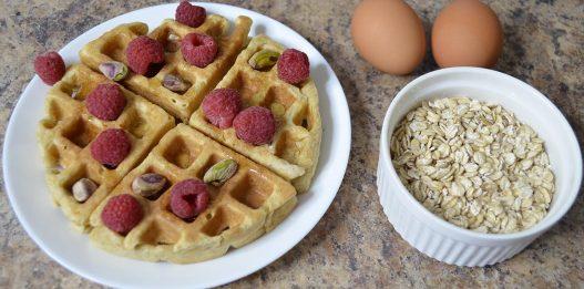 Oatmeal Waffles – No Flour